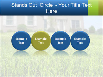 House And Green Lawn PowerPoint Templates - Slide 76