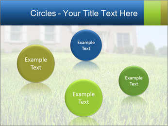House And Green Lawn PowerPoint Templates - Slide 77
