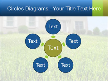 House And Green Lawn PowerPoint Template - Slide 78
