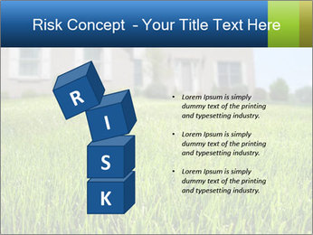 House And Green Lawn PowerPoint Template - Slide 81