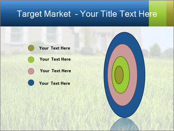House And Green Lawn PowerPoint Template - Slide 84