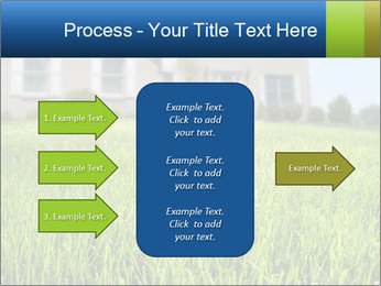 House And Green Lawn PowerPoint Templates - Slide 85