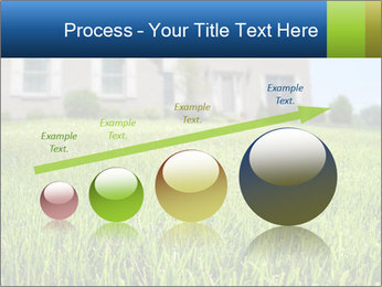 House And Green Lawn PowerPoint Template - Slide 87