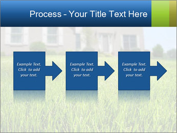 House And Green Lawn PowerPoint Template - Slide 88