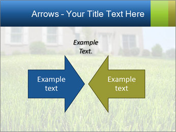 House And Green Lawn PowerPoint Templates - Slide 90