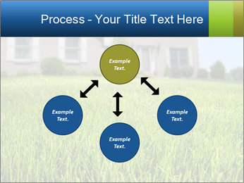 House And Green Lawn PowerPoint Template - Slide 91