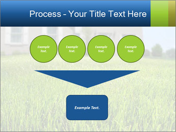 House And Green Lawn PowerPoint Template - Slide 93