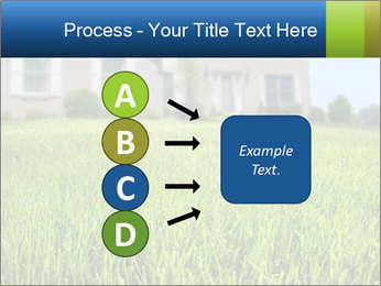 House And Green Lawn PowerPoint Template - Slide 94