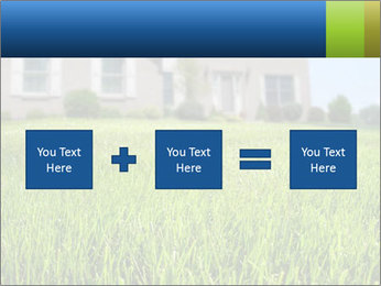 House And Green Lawn PowerPoint Templates - Slide 95