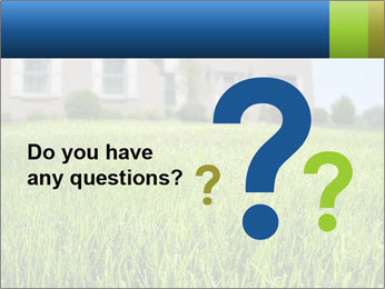 House And Green Lawn PowerPoint Templates - Slide 96