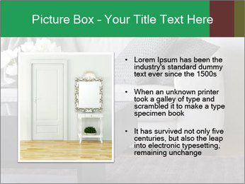 White Sofa And Coffee Table PowerPoint Templates - Slide 13