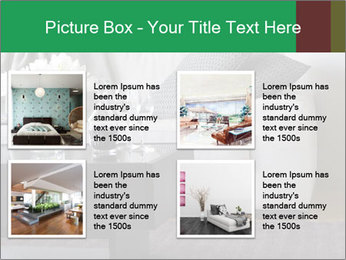 White Sofa And Coffee Table PowerPoint Templates - Slide 14