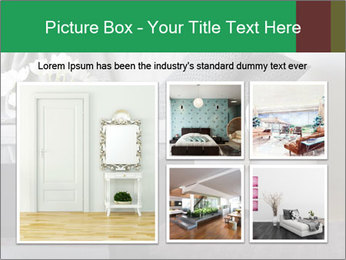 White Sofa And Coffee Table PowerPoint Templates - Slide 19
