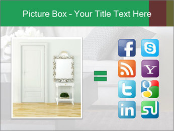 White Sofa And Coffee Table PowerPoint Template - Slide 21