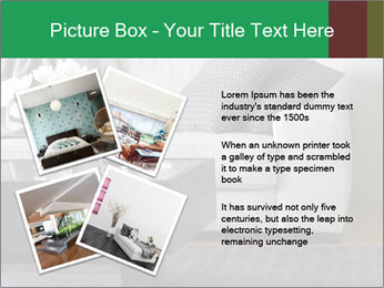 White Sofa And Coffee Table PowerPoint Templates - Slide 23