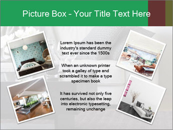 White Sofa And Coffee Table PowerPoint Templates - Slide 24