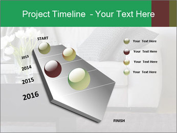 White Sofa And Coffee Table PowerPoint Templates - Slide 26