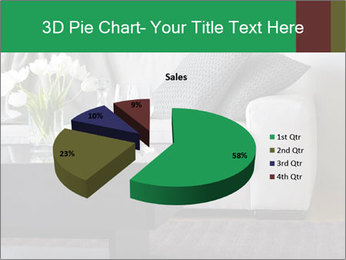 White Sofa And Coffee Table PowerPoint Templates - Slide 35