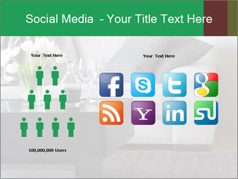 White Sofa And Coffee Table PowerPoint Templates - Slide 5