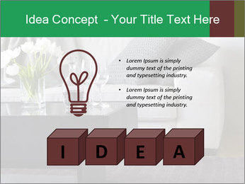 White Sofa And Coffee Table PowerPoint Templates - Slide 80