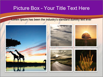 Sunset In Wheat Field PowerPoint Template - Slide 19