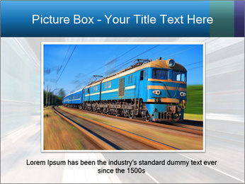 Modern high speed train PowerPoint Template - Slide 16