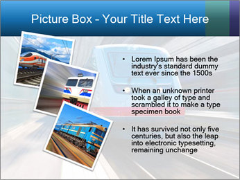 Modern high speed train PowerPoint Template - Slide 17