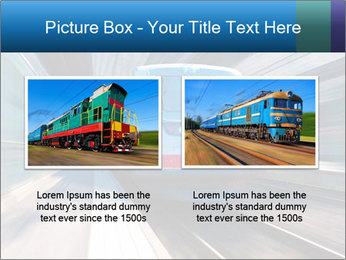 Modern high speed train PowerPoint Template - Slide 18