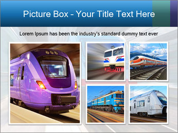 Modern high speed train PowerPoint Template - Slide 19