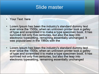 Modern high speed train PowerPoint Template - Slide 2