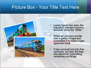 Modern high speed train PowerPoint Template - Slide 20