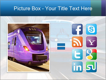 Modern high speed train PowerPoint Template - Slide 21