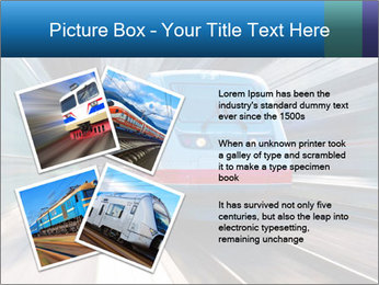 Modern high speed train PowerPoint Template - Slide 23
