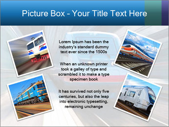 Modern high speed train PowerPoint Template - Slide 24