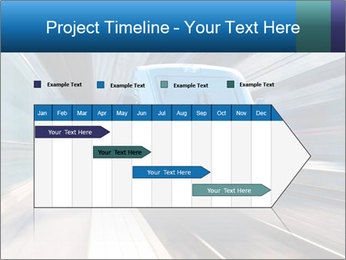 Modern high speed train PowerPoint Template - Slide 25