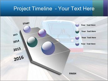 Modern high speed train PowerPoint Template - Slide 26