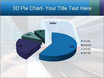 Modern high speed train PowerPoint Template - Slide 35