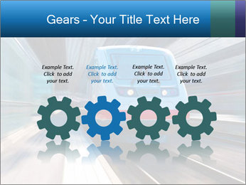 Modern high speed train PowerPoint Template - Slide 48