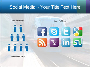 Modern high speed train PowerPoint Template - Slide 5