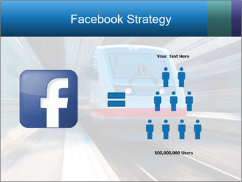 Modern high speed train PowerPoint Template - Slide 7