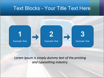 Modern high speed train PowerPoint Template - Slide 71