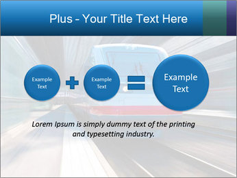 Modern high speed train PowerPoint Template - Slide 75