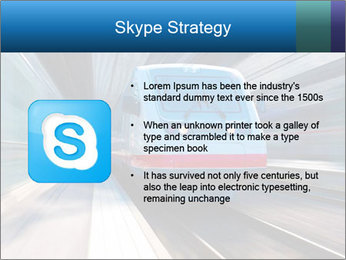 Modern high speed train PowerPoint Template - Slide 8