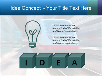 Modern high speed train PowerPoint Template - Slide 80