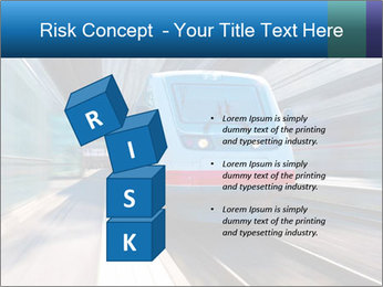 Modern high speed train PowerPoint Template - Slide 81
