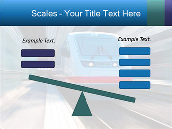 Modern high speed train PowerPoint Template - Slide 89