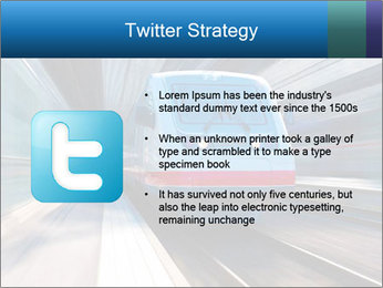 Modern high speed train PowerPoint Template - Slide 9