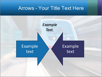 Modern high speed train PowerPoint Template - Slide 90