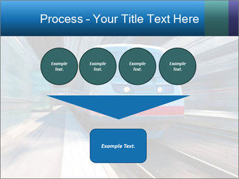 Modern high speed train PowerPoint Template - Slide 93