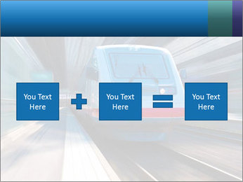 Modern high speed train PowerPoint Template - Slide 95